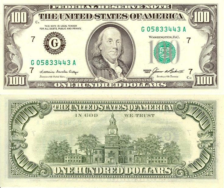 Details about BEN FRANKLIN HUNDRED DOLLAR BILL GLOSSY POSTER PICTURE PHOTO money currency 482