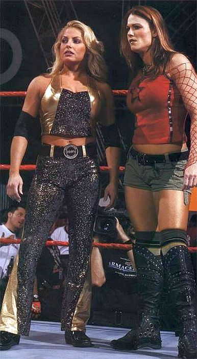 Trish and Lita. Two of the best there ever was