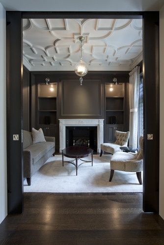 Step Into The Salon! Benjamin Moore   Silhouette AF 655