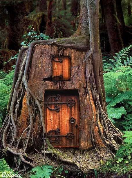 I had a dream where a troll lived in this house on the property that I lived on