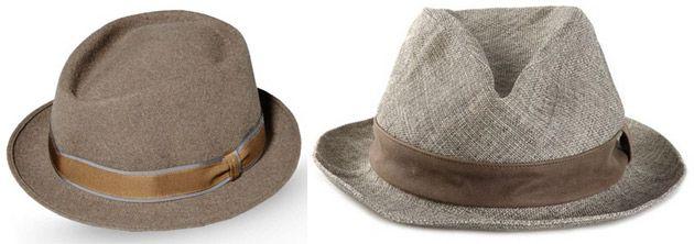 Herrenhüte - Trilby Hut & Cowboyhut-Touch - elegante Hüte für Männer