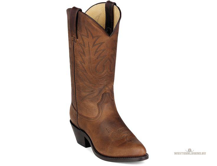 Женские Tan Western Boot