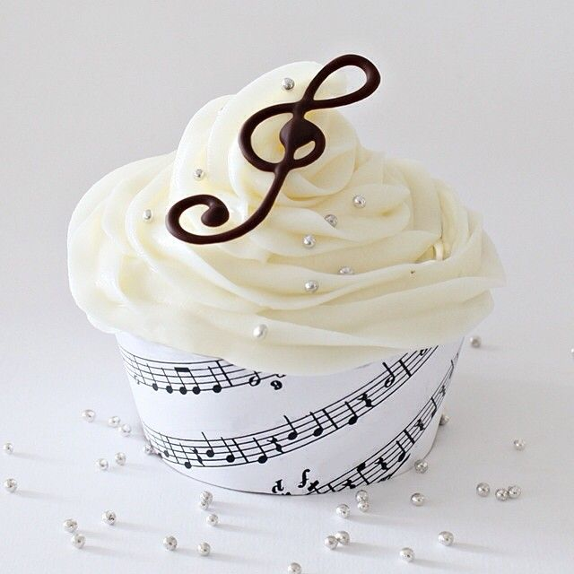 This week's cupcake theme is #musik (music) #misscupcake2014 Vote if you'd like at www.misscupcake.se