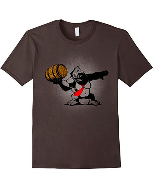 The Donkey Activist.  A parody about a popular Banksy work on a mashup with the coolest gorilla from video-games. Available on Amazon.    #donkeykong #gorilla #videogames #tshirt #parody