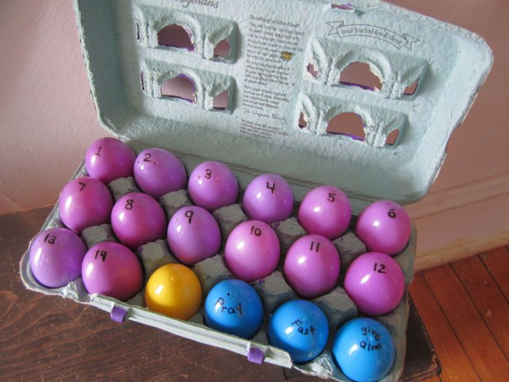 Stations of the Cross Eggs for Catholic Kids