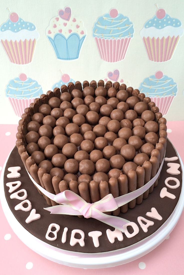 Malteaser Birthday Cake