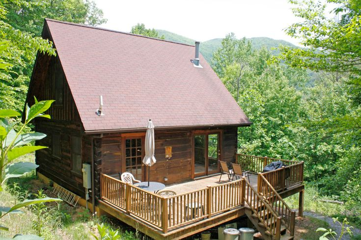 Weaverville Cabin - An 830 square feet home in an intentional community in Weaverville, North Carolina ~ click on photo for more ~