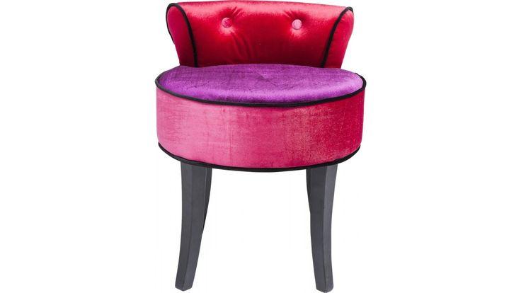 Pouf Backrest Boudoir Kare Design