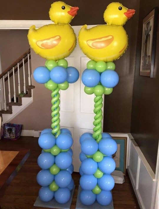Balloon column balloon columns pinterest columns for Balloon column decoration