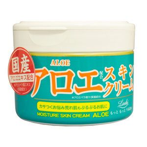 КРЕМ С ЭКСТРАКТОМ АЛОЕ ДЛЯ ТЕЛА Moisture Skin Cream Aloe Roland (Япония) Обеспечивает комплексный уход за кожей:  глубоко питает и увлажняет; успокаивает; снимает раздражение.