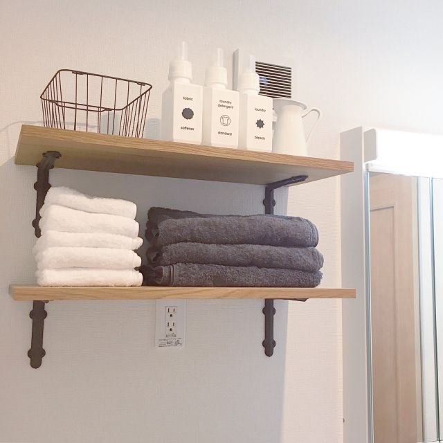 コツを知りたいかた必見!「タオル収納」の方法とポイント | RoomClip mag | 暮らしとインテリアのwebマガジン