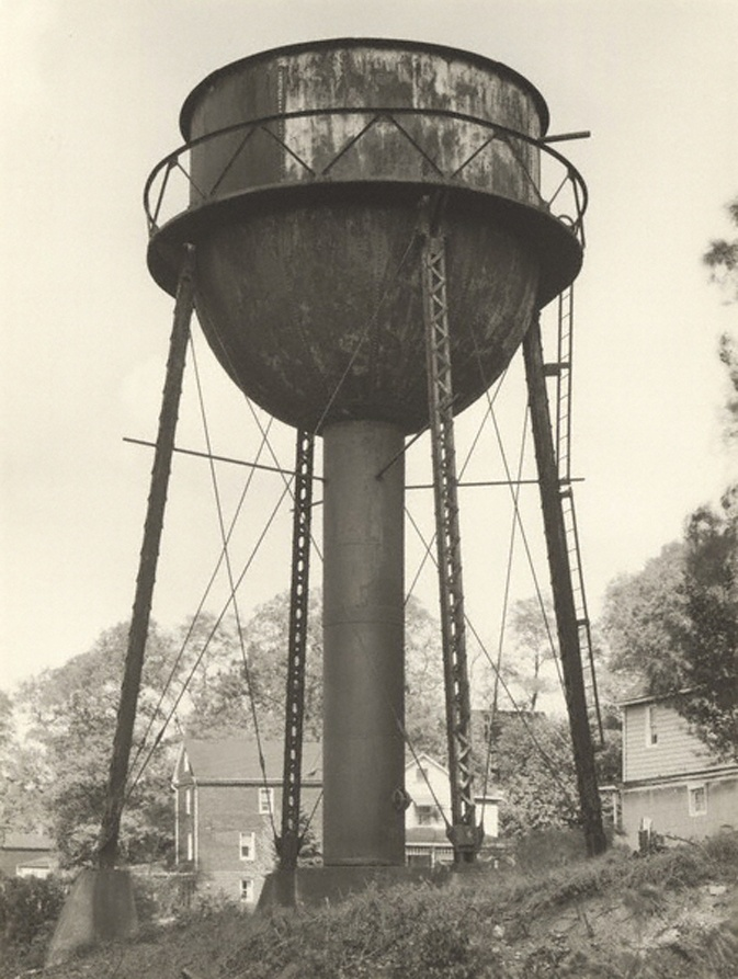Bernd and Hilla Becher, German, partnership 1959-2007, Water Tower, Youngstown, Ohio, USA, 1980