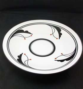 Dansk Flora Bayberry Tea or Coffee Set and Serving Plate