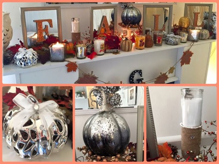 Best ideas about fall fireplace decor on pinterest