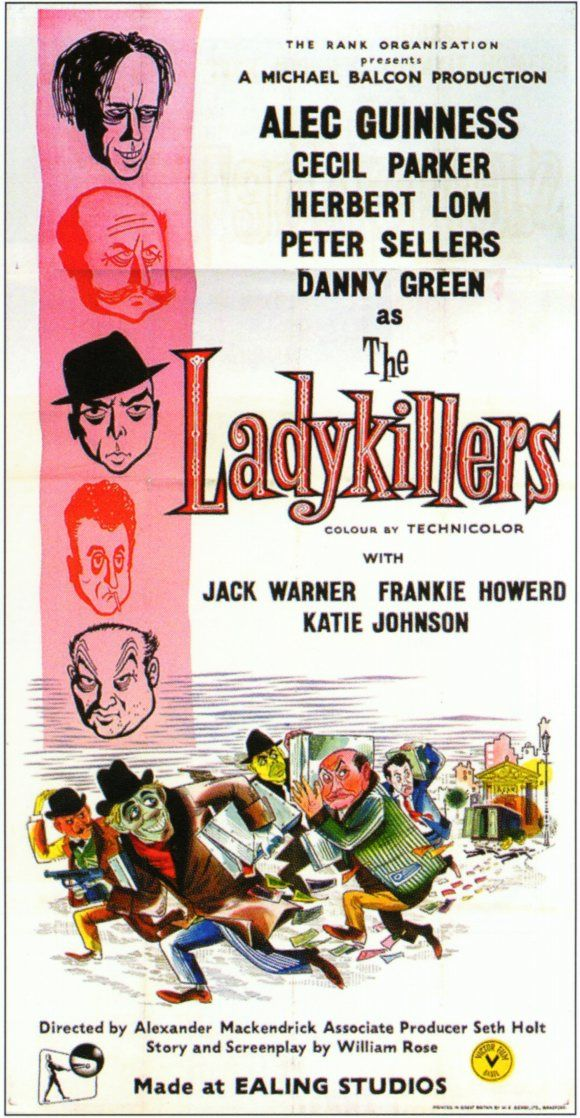 The Ladykillers (1955) Katie Johnson, Alec Guinness, Cecil Parker, Herbert Lom, Peter Sellers, Danny Green, Jack Warner