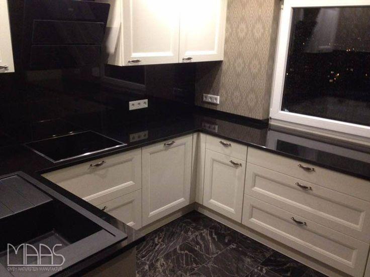 Aufmaß, Lieferung und Montage von noch einer #Granit #Küche