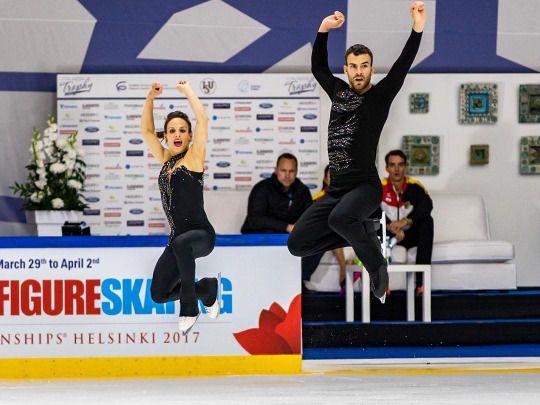 Meagan Duhamel and Eric Radford SP at Finlandia 2016