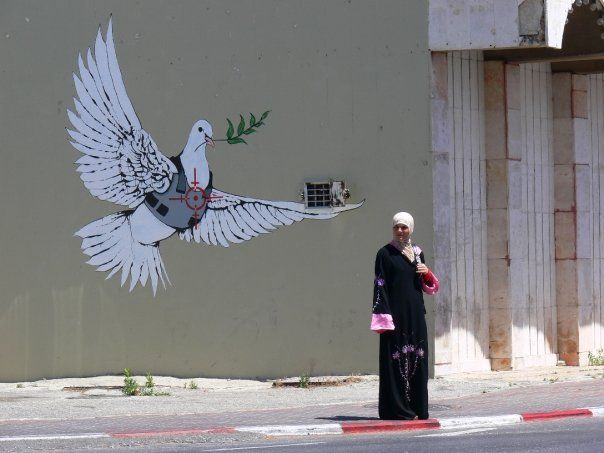 STREET ART UTOPIA » We declare the world as our canvasstreet_art_33_banksy » STREET ART UTOPIA