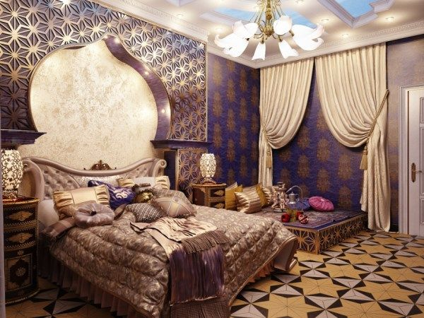 I love the Arabian night kind of theme like living in a grand palace if i