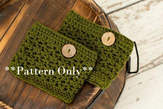 boot cuffs pattern boot cuff crochet by TenderMomentsCrochet