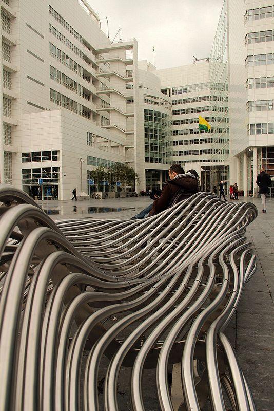Spuiplein-Den Haag 2013 | BenchMark model C designed by OnSi… | Flickr - Photo Sharing!