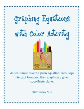 183 best education math curriculum ideas images on pinterest graphing linear equations with color worksheet fandeluxe Images