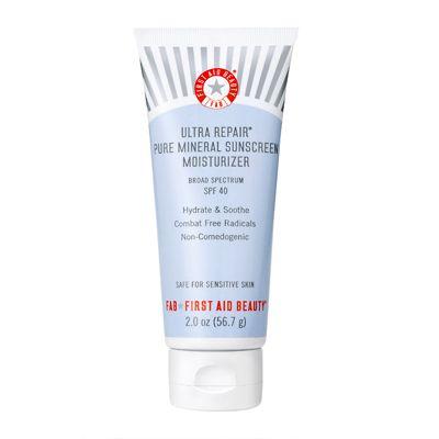 First Aid Beauty Ultra Repair Pure Mineral Sunscreen Moisturizer SPF40 56.7 g