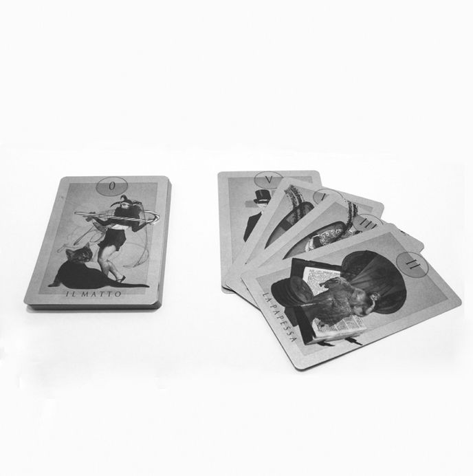 Tarot deck - Valentina GelsoNero Mangieri