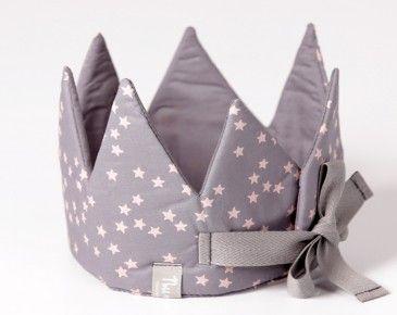 corona para niños en tela