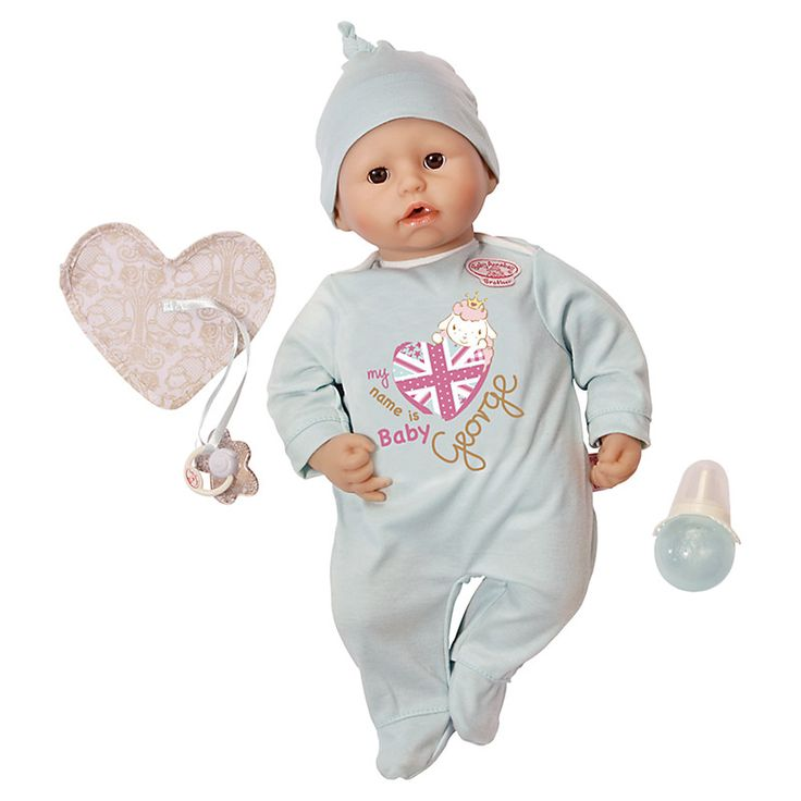 Buy Zapf Baby Annabell Brother George Doll | John Lewis