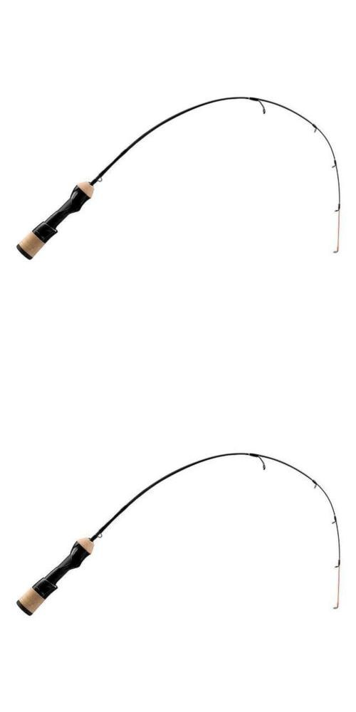 Ice Fishing Rods 179947: 13 Fishing Widow Maker Ice Rod 32 Inch Medium Evolve Engage 2 Reel Seat Black -> BUY IT NOW ONLY: $52.64 on eBay!