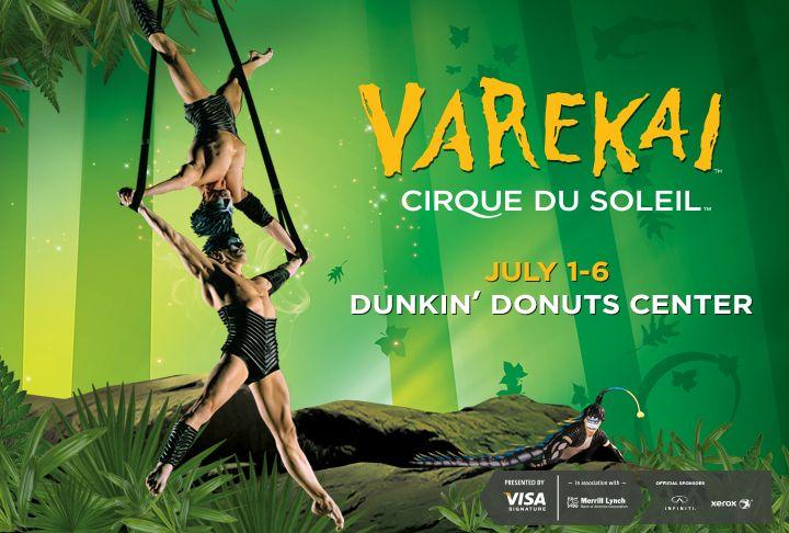 #CirqueduSoleil Varekai coming to #Providence July 1 - 6. Dunkin' Donuts Center