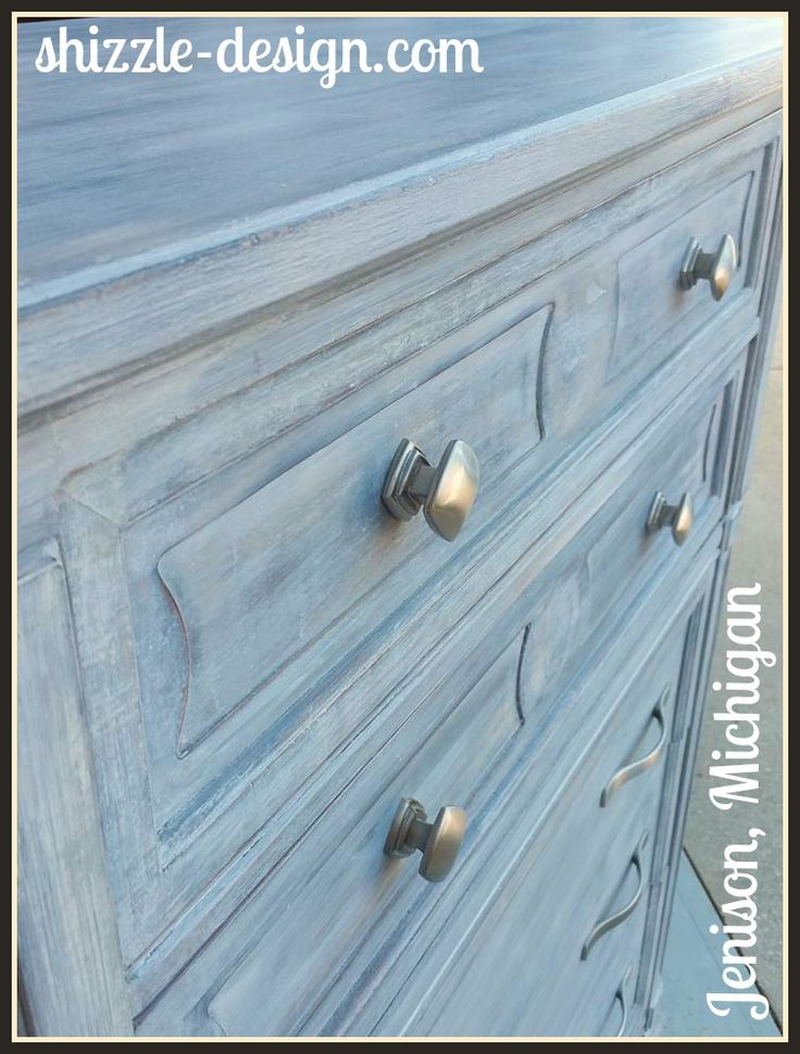 Sold   Easy Way To Create A White Washed Finish On Chalk U0026 Clay Painted  Furniture
