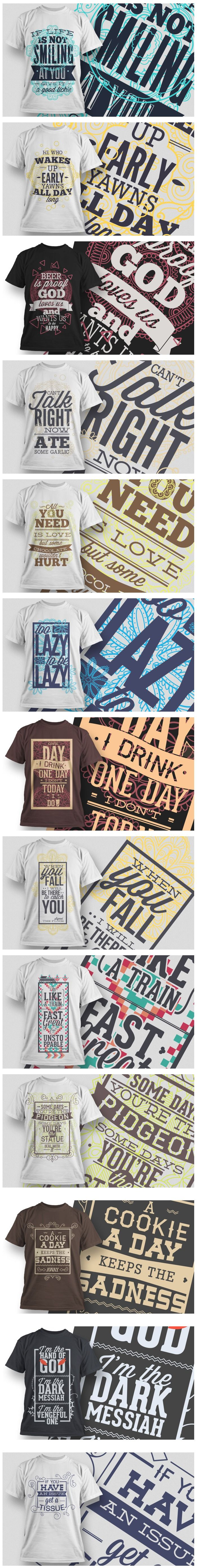 Find these awesome T-shirt Designs and even more here: https://www.inkydeals.com/deal/100-premium-t-shirt-designs/