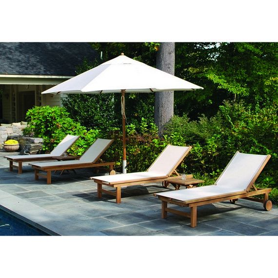 18 best teak a classic images on pinterest backyard for Pool garden outlet