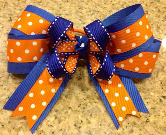 foto de Boutique Hair Bow Sports Spirit Wear Softball Cheer