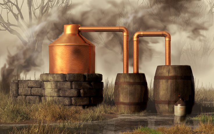 moonshine still | Swamp Moonshine Still by *deskridge on deviantART