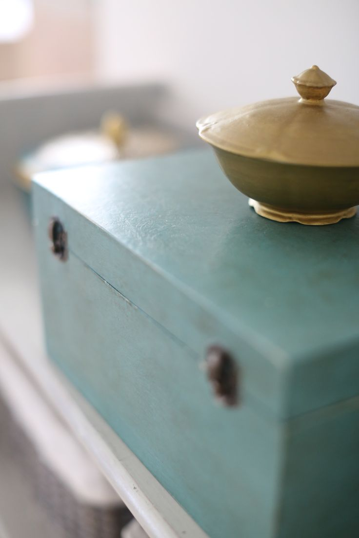 Work box with French Linen and Provence