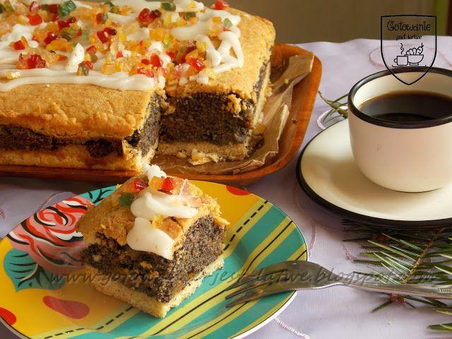 Gotowanie jest łatwe: Ciasto z makiem