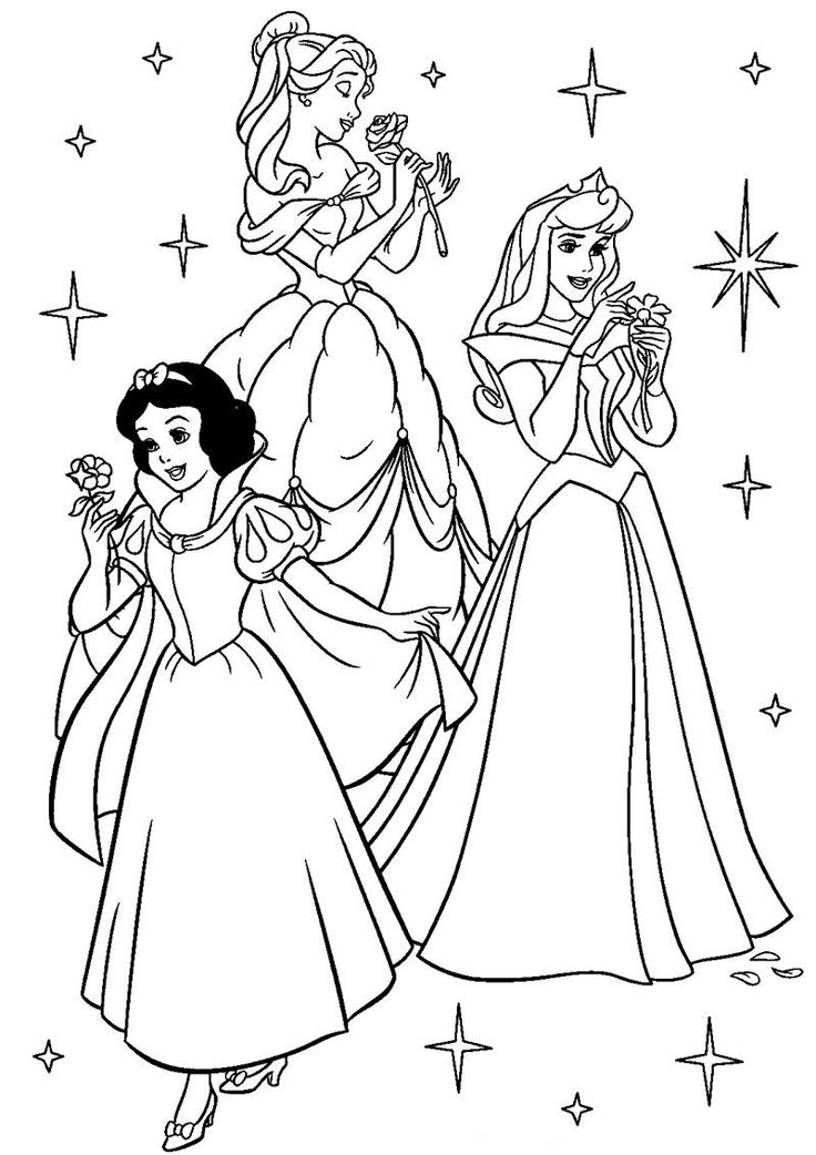 70 best Princess Coloring Pages images on Pinterest | Frozen ...