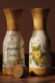 decoupage butelki galeria - Szukaj w Google