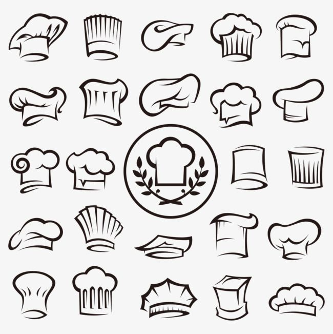 Chef Hat Collection Chef Clipart Chef Hat Png Transparent Clipart Image And Psd File For Free Download Chefs Hat Hat Vector Chef Logo