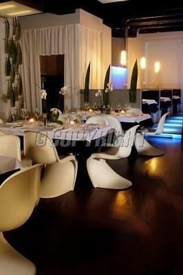 Picture of modern restaurant interior