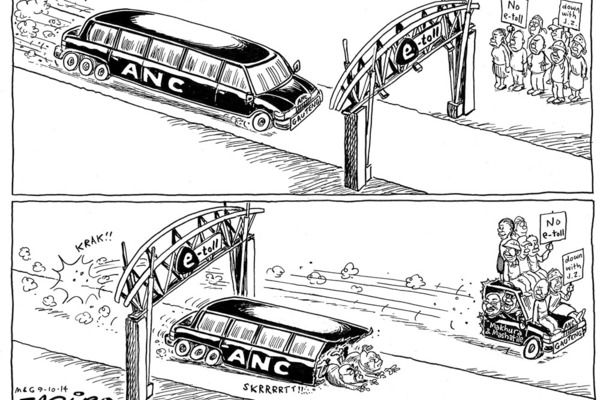 Zapiro: ANC and e-tolls - Mail & Guardian