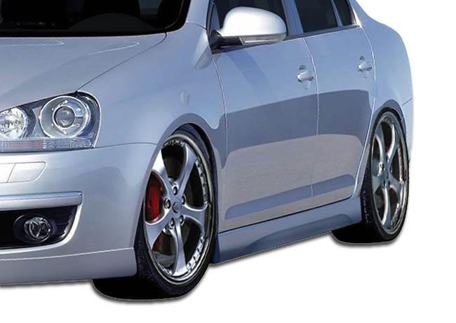 2005-2010 Volkswagen Jetta 2006-2009 Golf GTI Rabbit Duraflex Executive Side Skirts Rocker Panels - 2 Piece