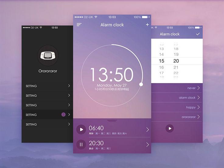 Clock App by ororororor