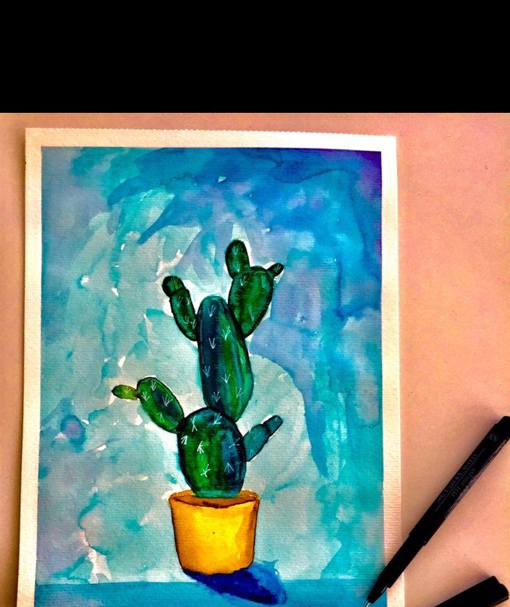 Home is where mein kleiner grüner Kaktus steht.