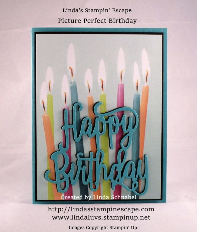 Hello Stampin' Friends ~ Today I'm back with 2 super cute, super easy cards that you can create with the new Picture Perfect Party Designer Series Paper stack! I made this easy peasy ca…