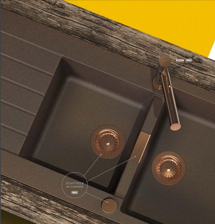 Die besten 25+ Granit Küche Ideen auf Pinterest | Dunkle ... | {Spülbecken küche granit 43}