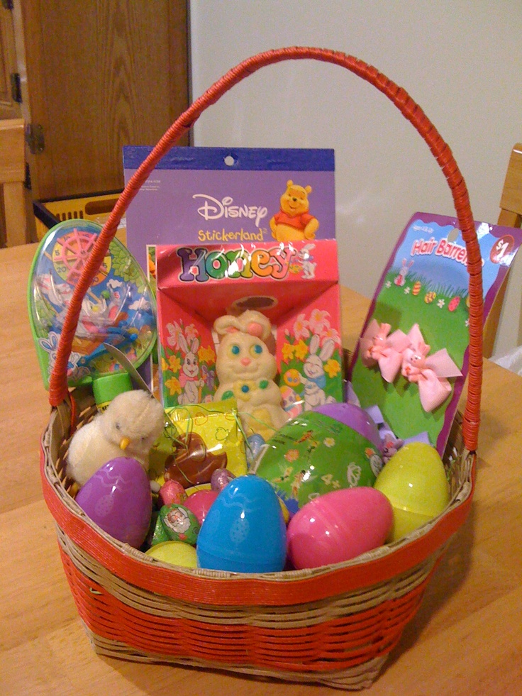 12 best easter images on pinterest easter eggs asda recipes and handmade easter gift basket negle Image collections